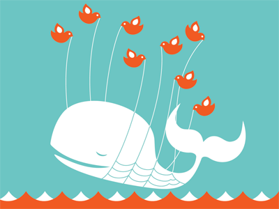 Twitter, the whale in descise.