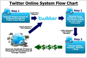 Follower process for twitter